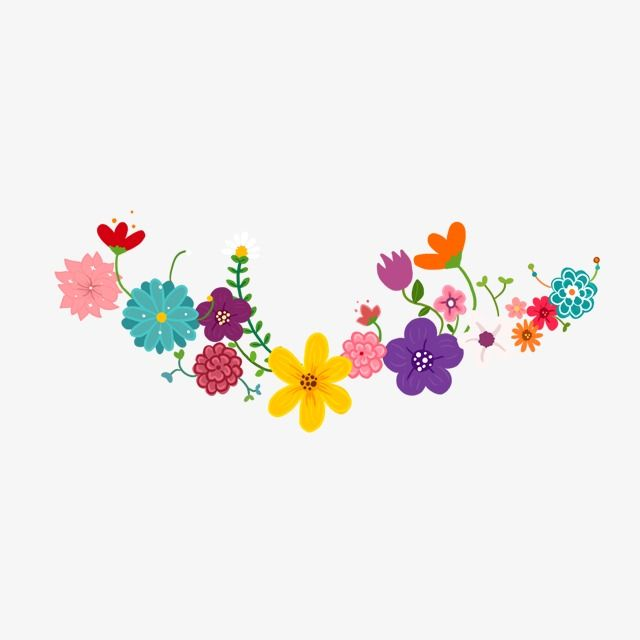 Floral Wreath Color Flowers Wreath Flower Series Png Transparent Clipart Image And Psd File For Free Download Flower Drawing Flower Art Mexican Paper Flowers