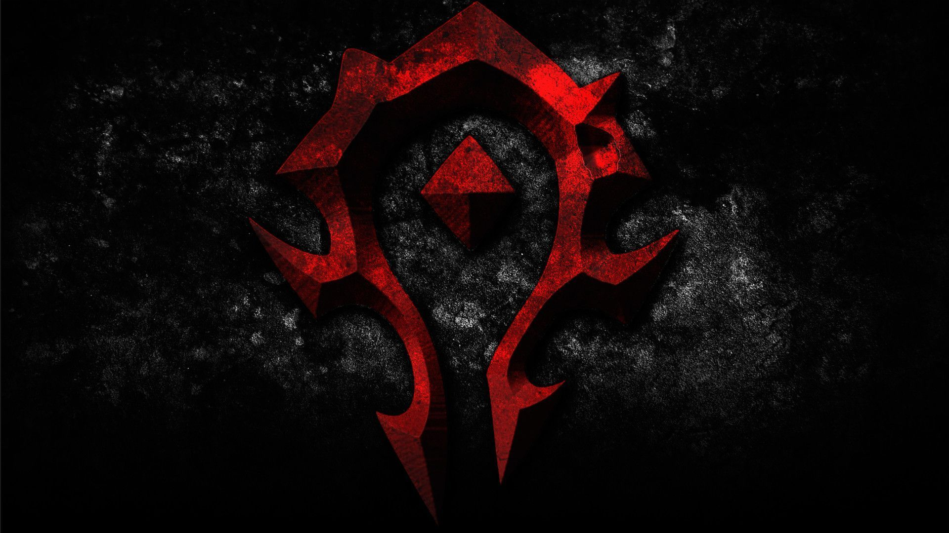 Warcraft Horde Logo Symbol Wallpaper Hd Wallpaper Feedwallpaper