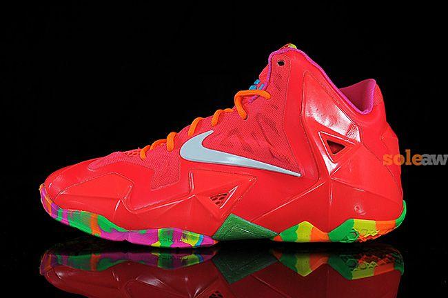 "big sale f8a37 c16b1 Preview  Nike LeBron 11 GS ""Fruity Pebbles"""