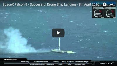 Breaking News: SpaceX Nails Historic At-Sea Rocket Landing Fifth times a charm!
