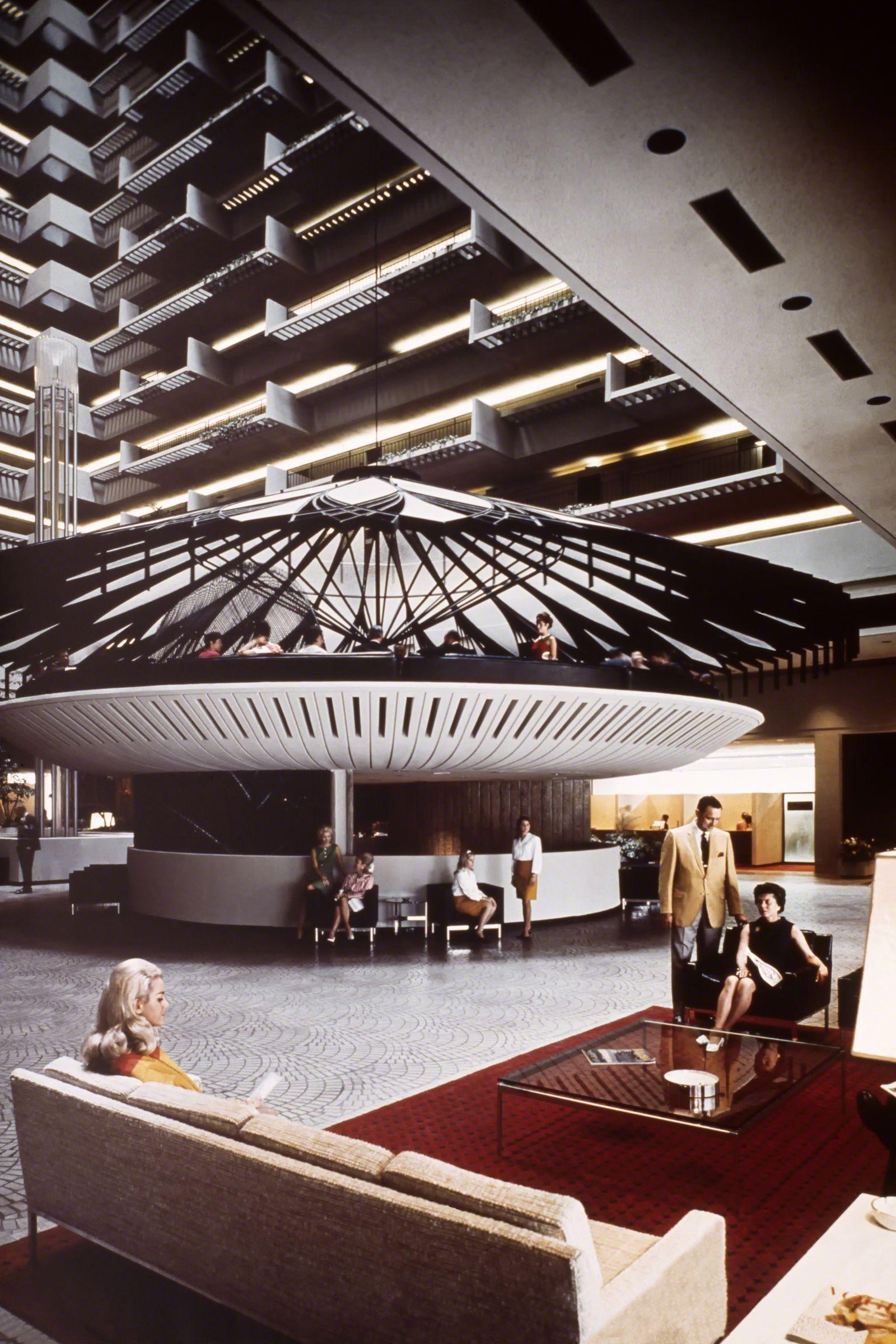 Neofuturist Architect John Portman Bet On Cities Just As