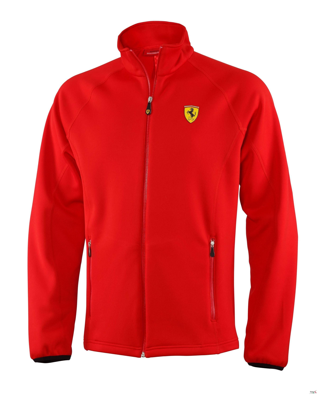 new ferrari black hooded softshell puma jacket men product shell p soft