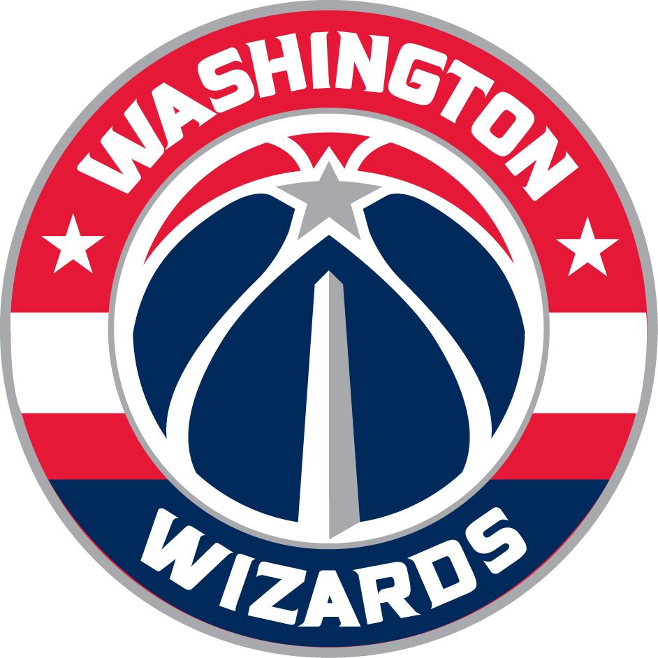 Washington Wizards Primary Logo Equipo De Basquetbol Equipos De Baloncesto Diseno De Logotipo Deportivo
