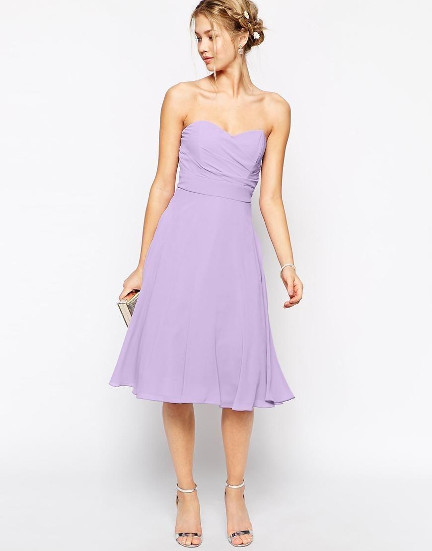 Atractivo Asos Vestido De Dama Modelo - Vestido de Novia Para Las ...