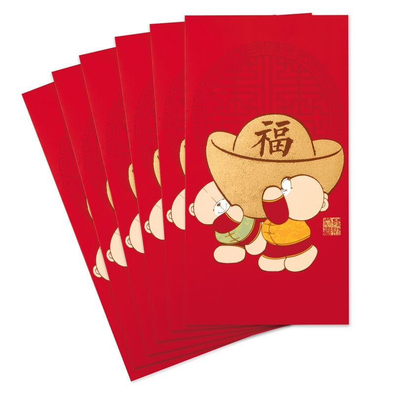 Forever Friends Bears Chinese New Year Red Envelopes Pack Of 6 Chinese New Year Wishes Chinese New Year Gifts New Year Wishes
