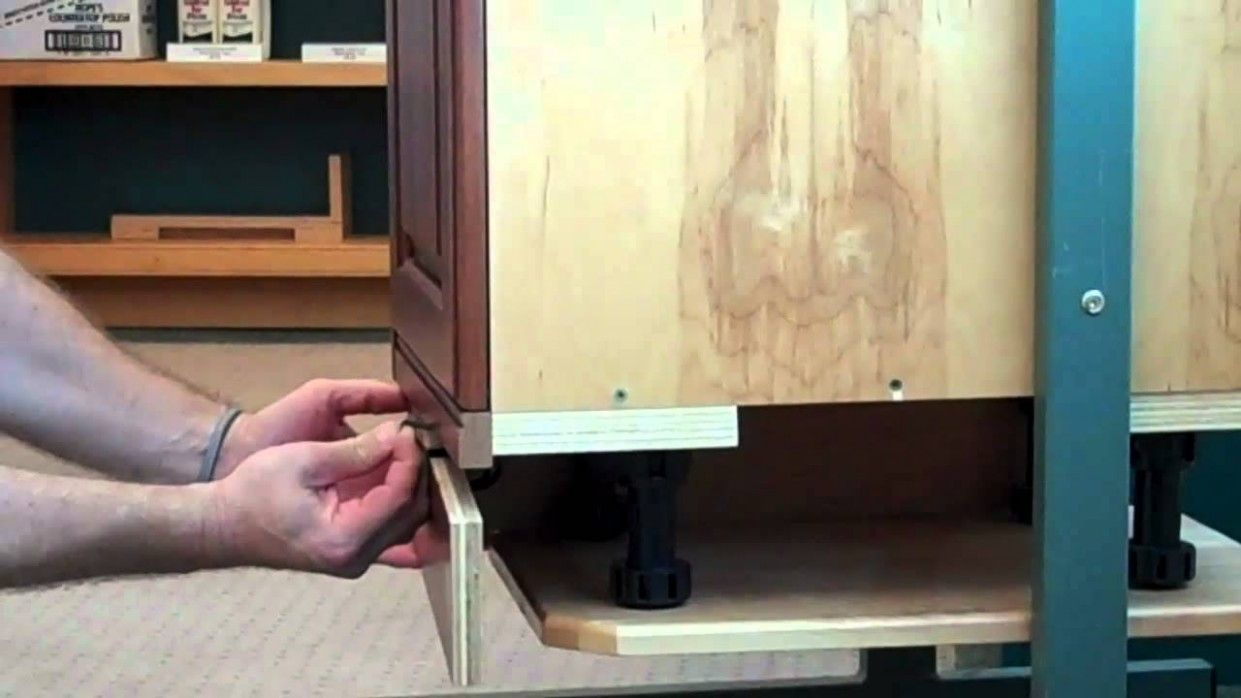 Tool For Removing Kitchen Cabinet Kickboard