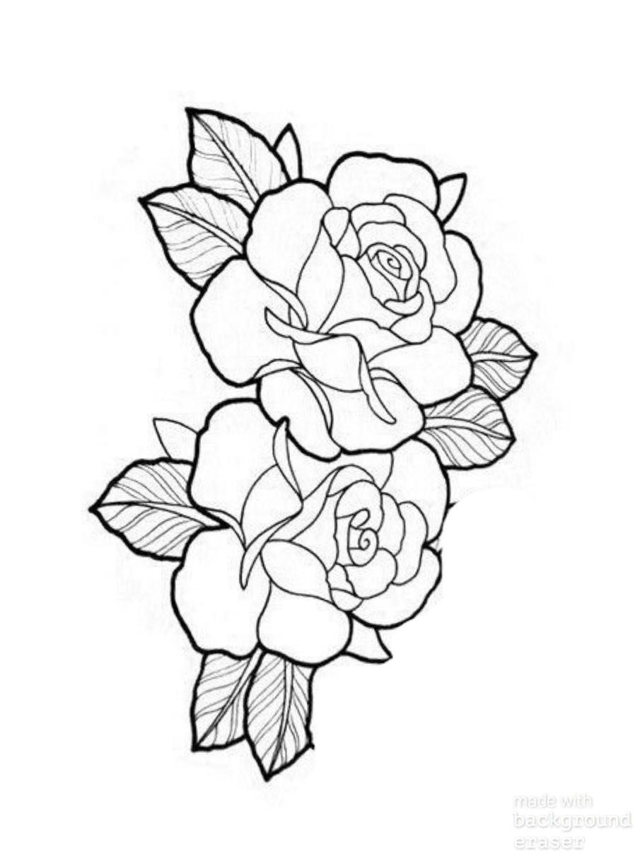 Pin By Bob Jackson On Wood Burning Rose Tattoos Rose Tattoo Design Rose Tattoo Stencil