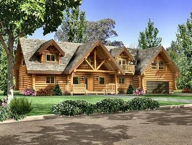 maison en rondins fustes log home designs log homes. Black Bedroom Furniture Sets. Home Design Ideas