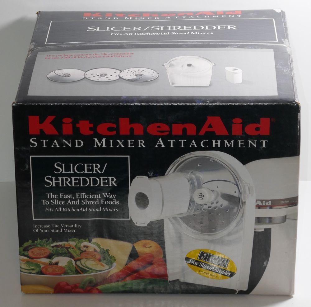 Kitchen aid stand mixer disc slicer and shredder