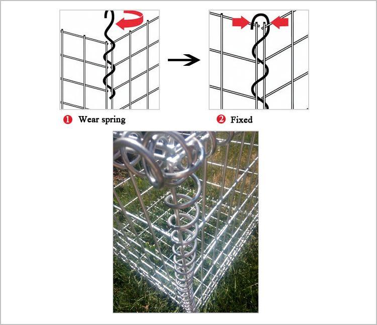 Galvanized Wire Netting/gabion Basket/garden Gabion/build Gabion ...