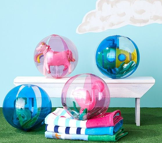 Inflatable Beach Balls Outdoor Toys For Kids Pottery