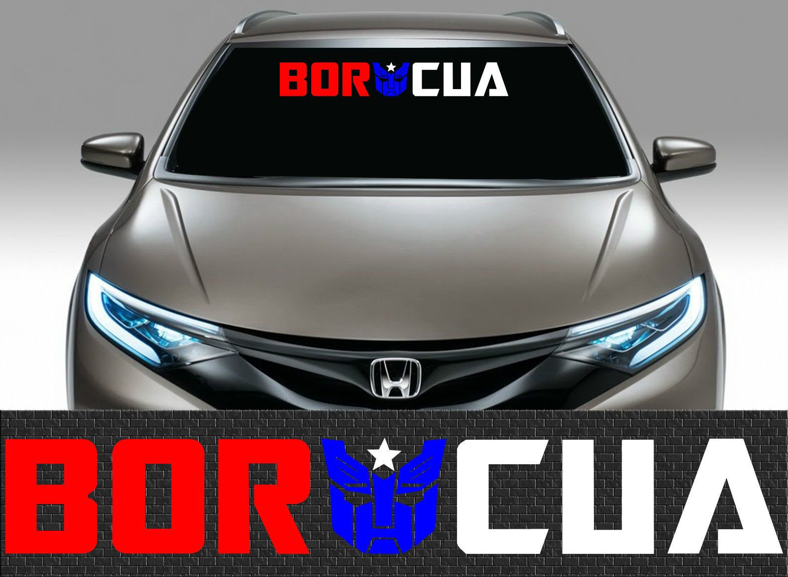 Car sticker design ebay - 1 Puerto Rico Puerto Rican Flag Car Decal Vinyl Stickers Boricua 1691 Ebay