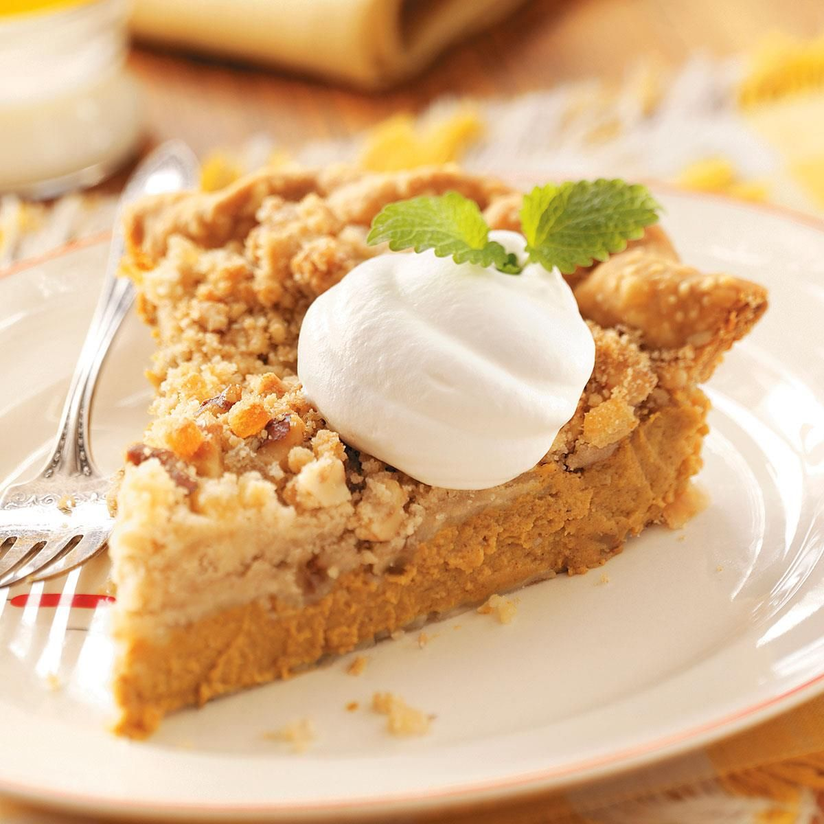Ginger-Streusel Pumpkin Pie   Recipe   Dessert recipes ...