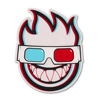 """Spitfire Rosa con logotipo Skate pegatina 2,25 X 3 /""""Skateboards Cascos calcomanía"""