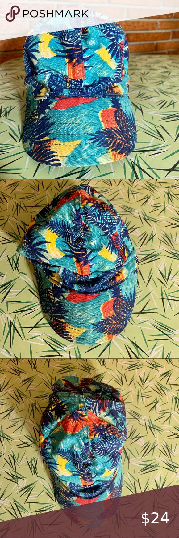 Vintage Kromer Tropical Teal Cap Hat Size 7 3 8 In 2020 Hat Sizes Hats Vintage Vintage