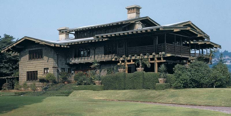 Gamble house architecture style