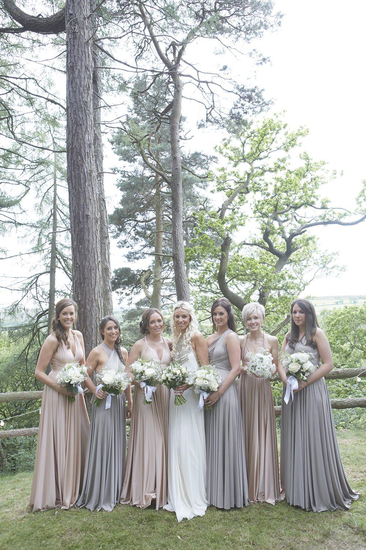 Bride in an Amanda Wakeley Wedding Dress & Sigerson ...
