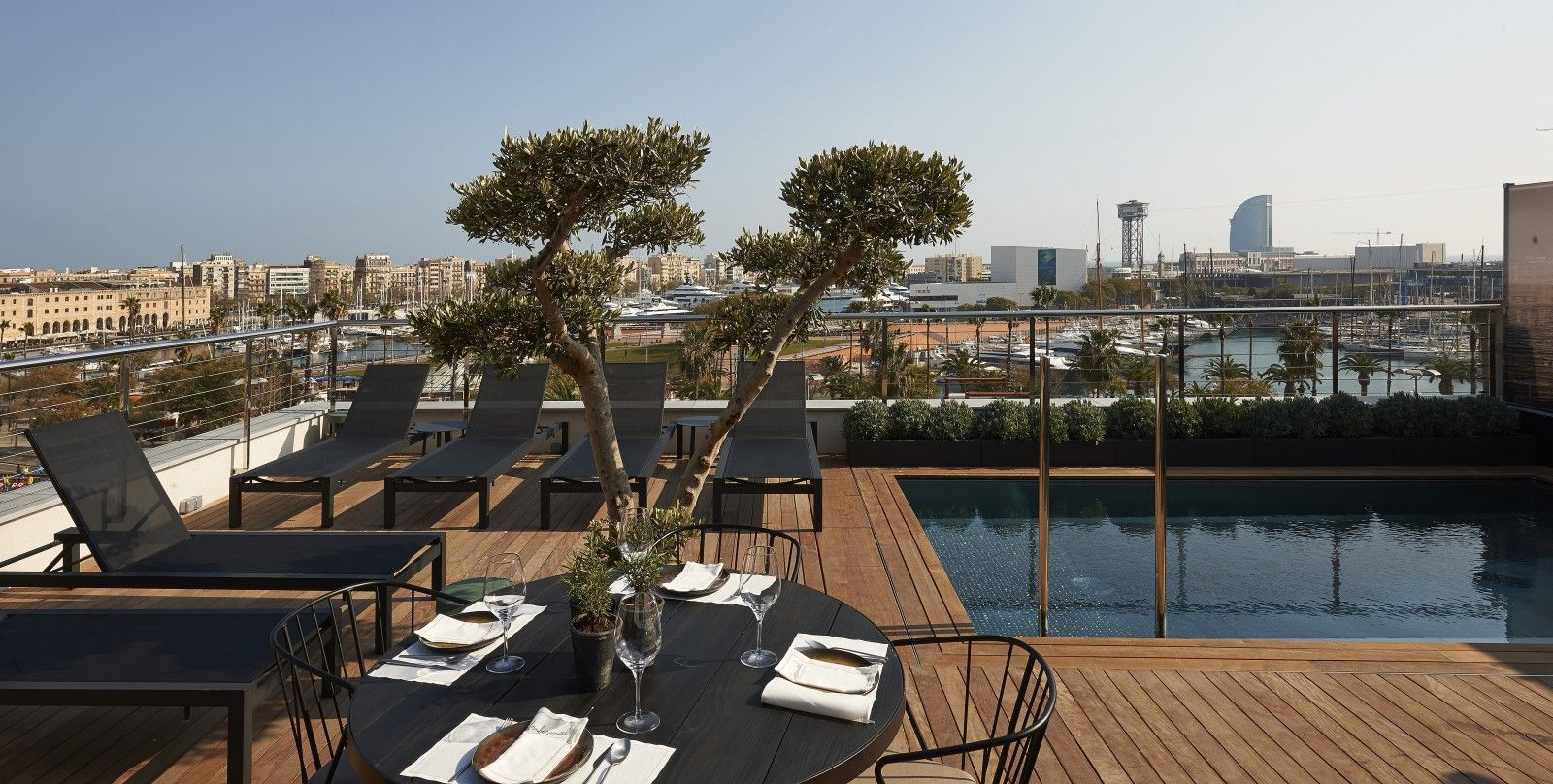 See Photos Of The Serras A Modern Hotel Located Steps From Barceloneta Beach Port Vell Gothic Quarter And Other Attractions In Centre
