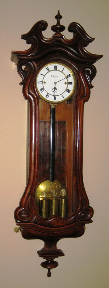 3-weight Vienna Regulator at antique-clock Ideas for the
