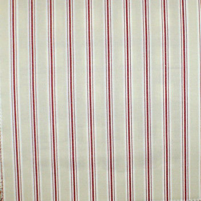 Fryetts Bay Stripe Curtain Fabric Rouge Curtain Factory Outlet