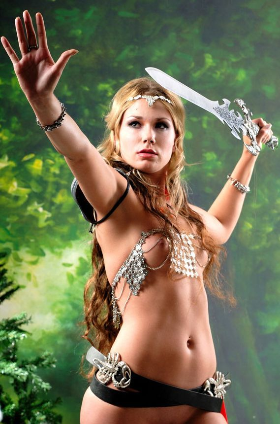 Bikini amazon warrior