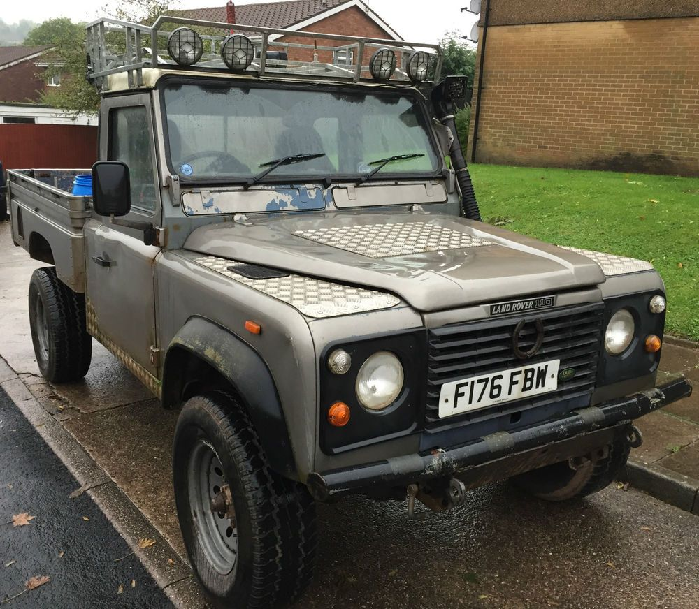 Land Rover Defender 110 For Sale: Land Rover Defender 110 Hi Capacity Pick Up 200tdi