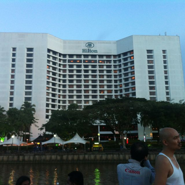 Hilton Kuching Has A Great Location In Front Of The River Hilton Kuching Locations