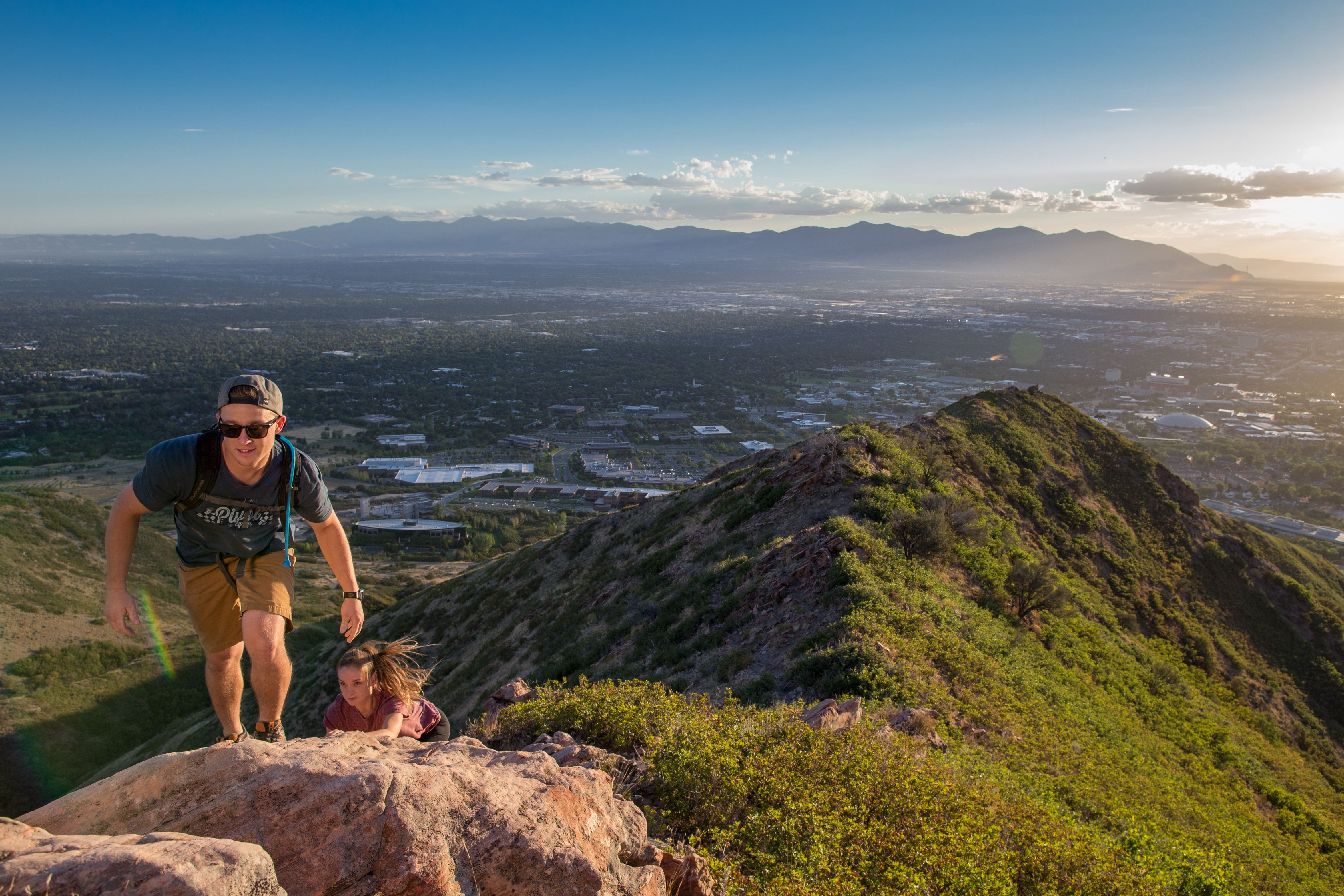 The Living Room Trail (with Red Butte Extension) Is A Mile Out And Back  Moderate Hiking Trail Located Near Salt Lake City, Utah That Features  Beautiful Wild ... Part 27