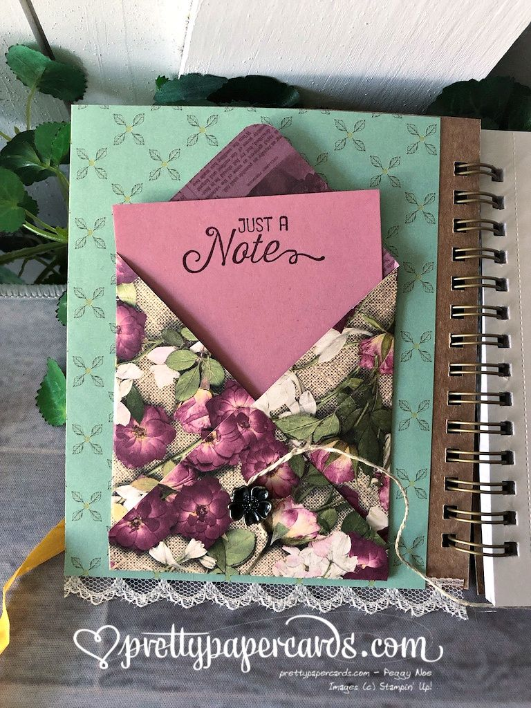 NEW VIDEO How to Decorate a Pressed Petal Journal