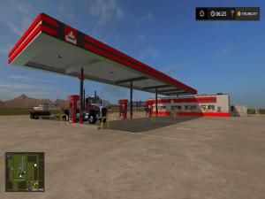 FS17 PC mod coversion release Petro-Canada truck stop