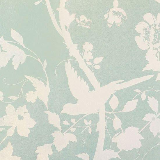 Bird Wallpaper From Laura Ashley