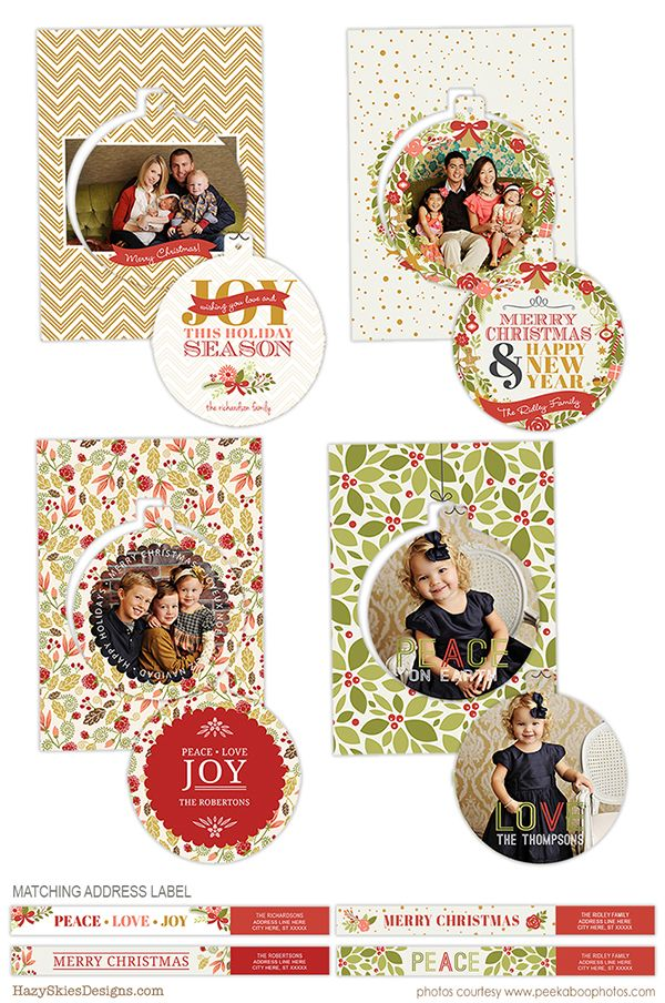 Luxe Pop Card Photoshop Templates For Photographers Photo Card Template Holiday Card Temp Holiday Card Template Christmas Card Template Create Holiday Cards