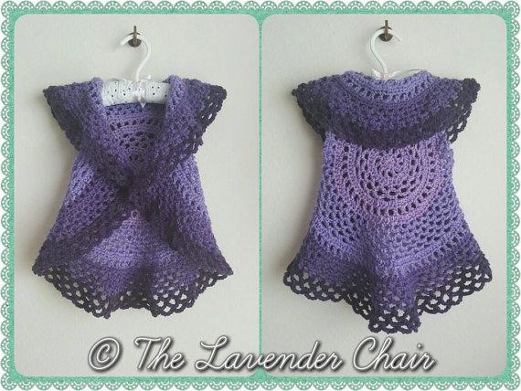 Ring Around the Rosie Vest Crochet Pattern - Free Crochet Pattern - The Lavender Chair
