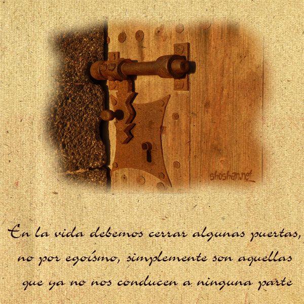 Resultado De Imagen De Frases De Puertas Cerradas Frases