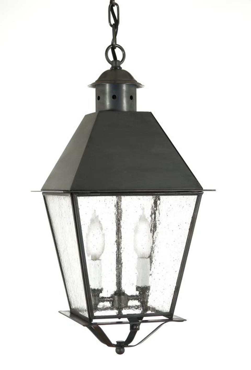 Fourteenth Colony Outdoor Lighting Greenwich Hanging Lantern Metal Top 2 Candle Bulbs 4472 In 2020 Steel Lighting Candle Bulbs Hanging Lanterns