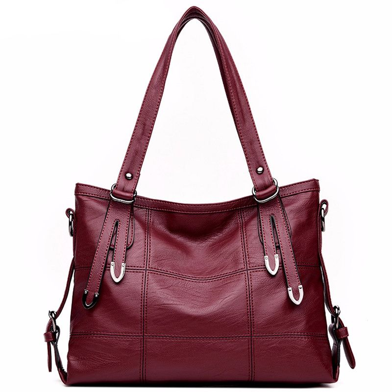 c9cc8aa949 HOT Luxury Lady Top handle leather women handbags Tag a friend who would  love this!