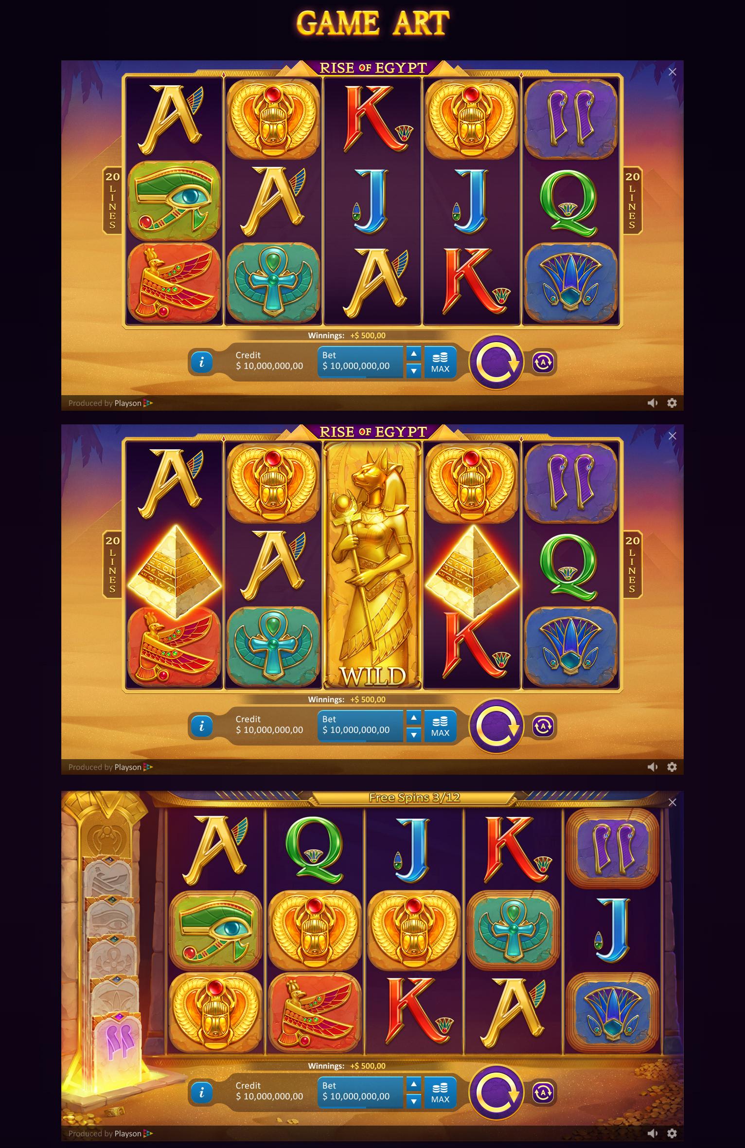 Slot Games Egypt