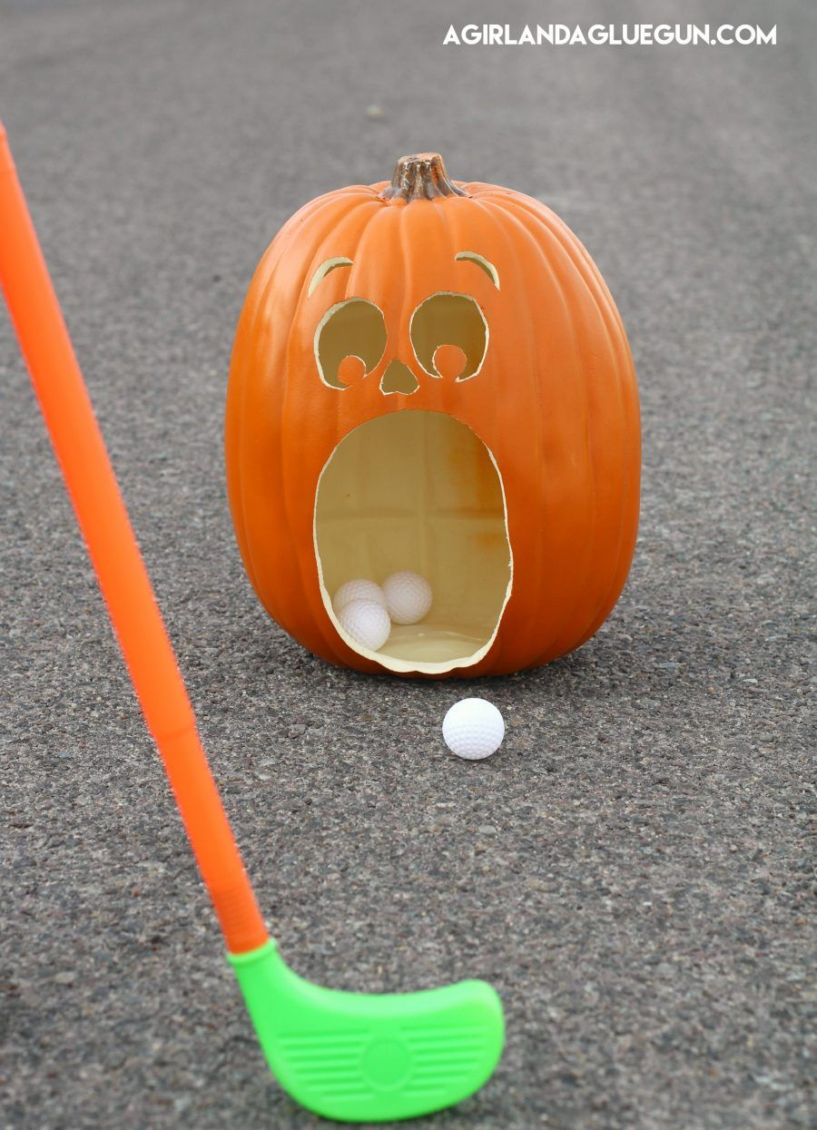 Halloween Golf game | Pumpkins, Halloween and Trunk or treat