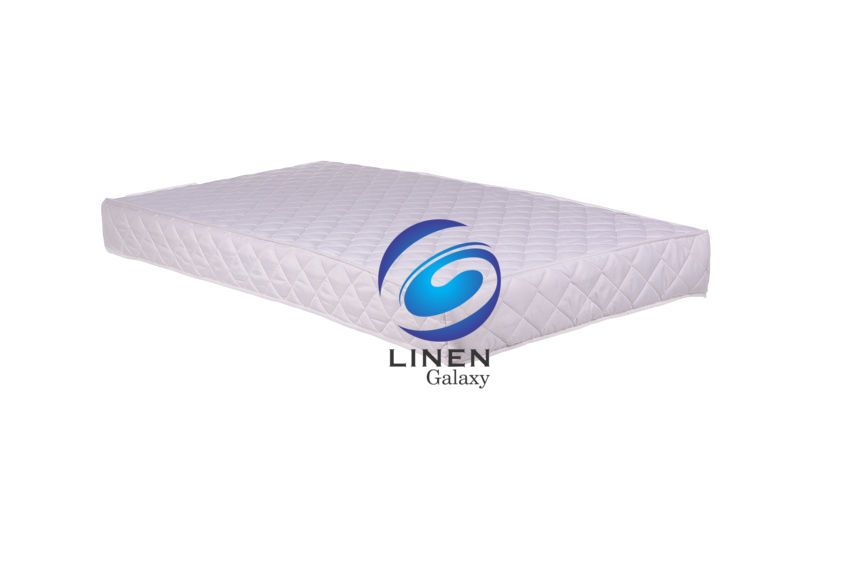 Baby Cot Breathable Foam Mattress Quilted /& Waterproof Cover 120 x 60 x 13cm