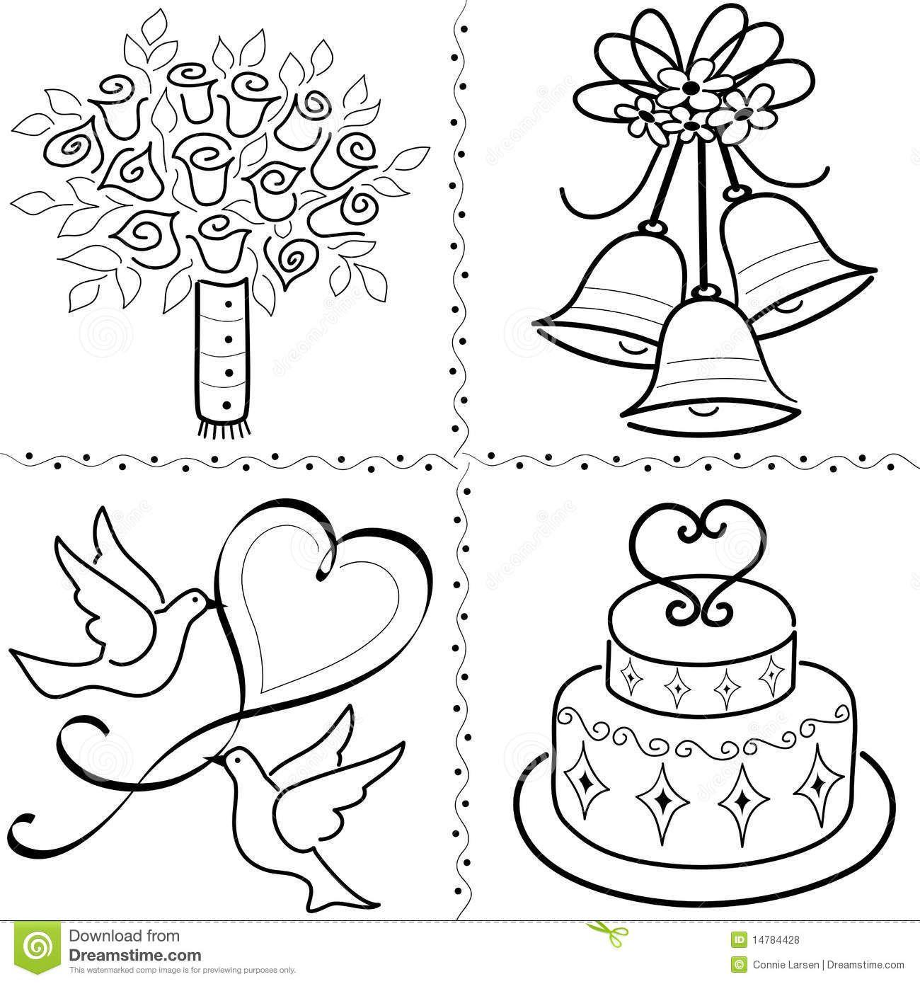 Wedding Clip Art Set/eps Royalty Free Stock Photos - Image ...