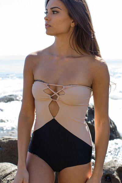 ACACIA Swimwear 2014 - Bronx One Piece Storm/Nude - $202