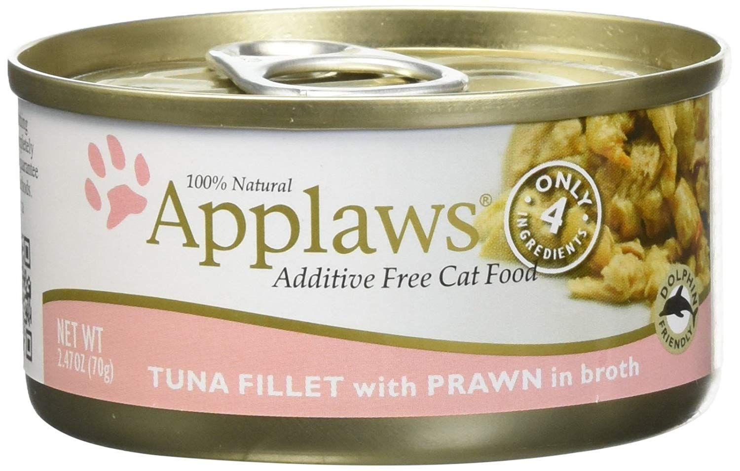 Applaws Tuna Fillet With Prawn Canned Cat Food 2 47 Oz 24 In A Case Nice To Have You For Viewing Our Picture Canned Cat Food Free Cat Food Tuna Fillet