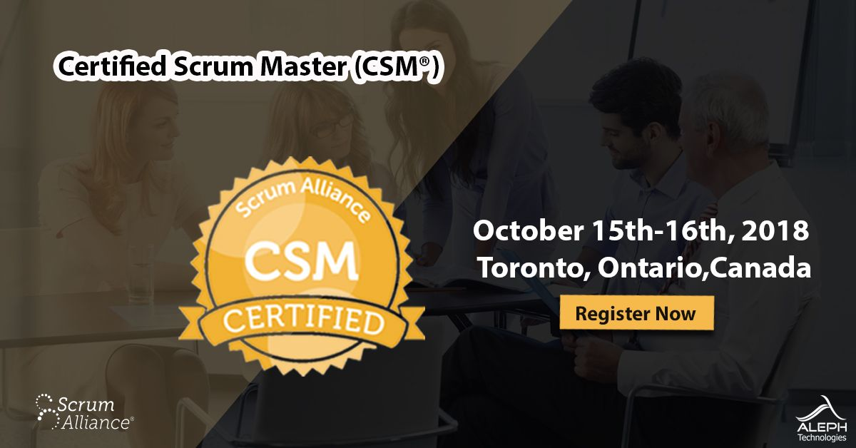 2-day training course certified instructor (cst) led workshop scrum ...