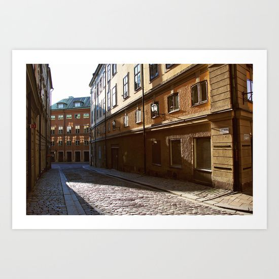 Buy Stockholm Sunset by Jessica Giles as a high quality Art Print. Worldwide shipping available at Society6.com. Gamla Stan, Stockholm, Sweden, Travel