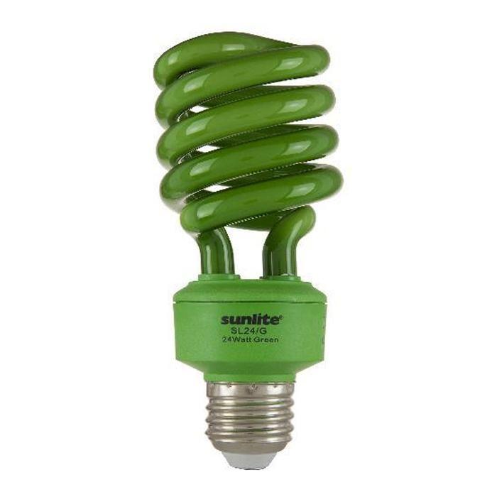 SUNLITE 05512 Compact Fluorescent 24W Super Twist Colored Bulb