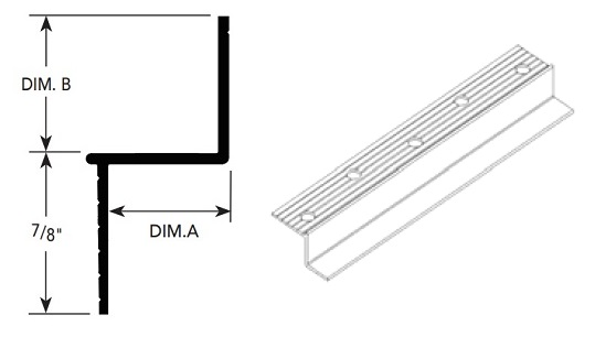 Fry Reglet Drmz 25 25 Z Reveal Molding Clear Anodized In 2020 Window Reveal Anodized Molding