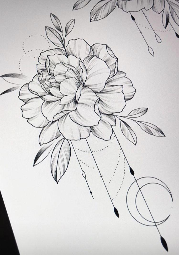 Mykinglist Com Blumen Tattoos Vorlagen Blumen 8