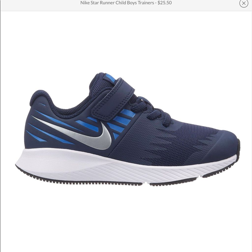 Nike Star Runner Boy's Youth Trainers