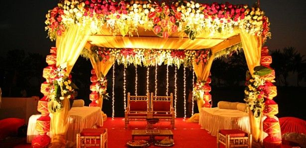 Wedding decoration ideas outdoor indian wedding decorations with wedding decoration ideas outdoor indian wedding decorations with small floral tent and two wooden chairs junglespirit Images