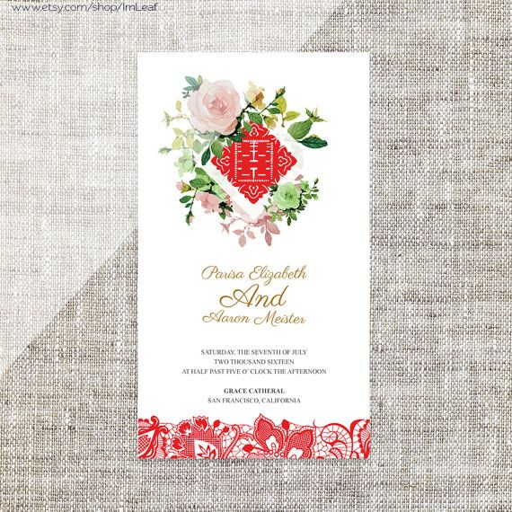 Diy printableeditable chinese wedding invitation card rsvp diy printableeditable chinese wedding invitation card rsvp stopboris Choice Image